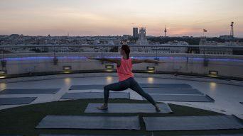 ¡Clase de yoga en Azotea del Círculo!