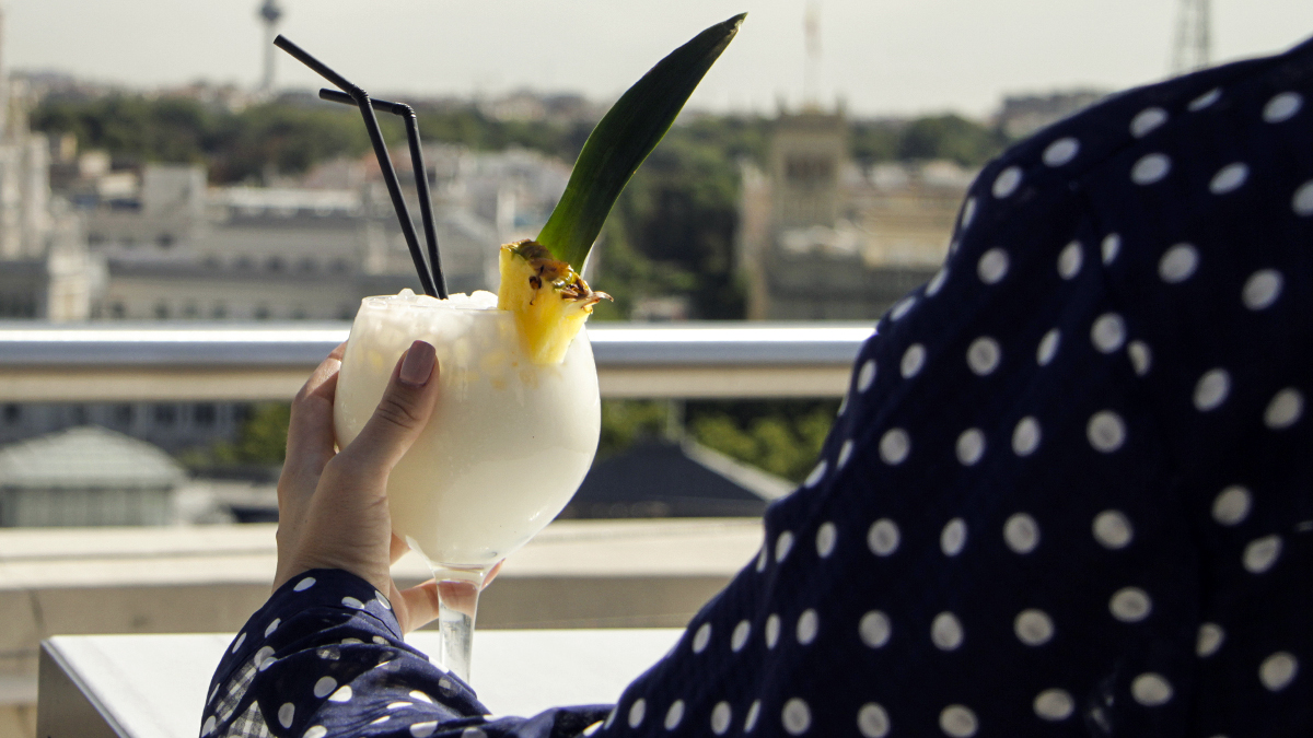 Una coctelería a la altura de nuestras vistas